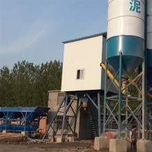Ready mixed HZS75 concrete batching plant machine