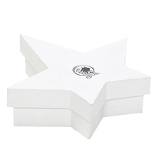 Five Pointed Star Shape Cardboard Gift Paper Box