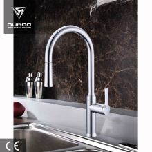 Top for Pull Out Kitchen Faucet Chrome Finishing Kitchen Faucet Single Handle Sink Faucet supply to Armenia Factory