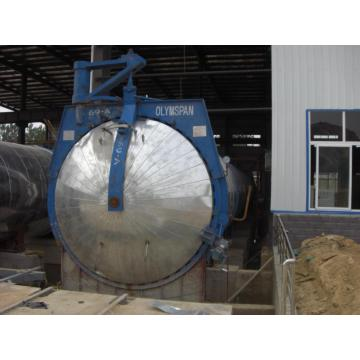 Automatic AAC autoclave fly ash block