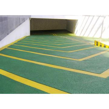 Ramp epoxy mortar anti-slip floor paint
