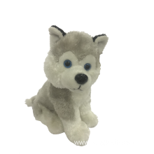 Plush Snow Dog In White