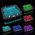 acrylic whirlpools 4person  massagespa bathtub