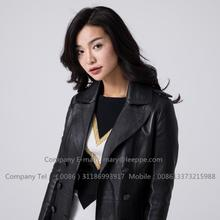 Sheepskin Leather Jacket For Women In Winter