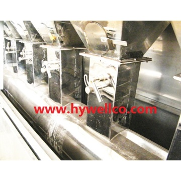 Foodstuff Particles Fluidized Drying Machine