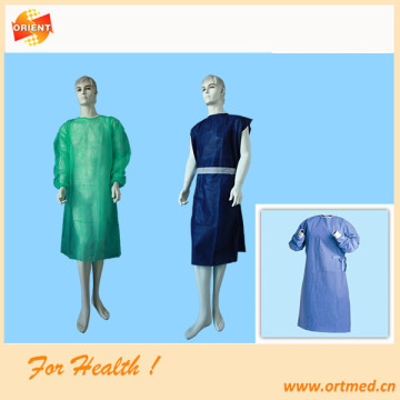 Patient exam sterile gown