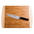 Chef Extra Large Organic Bamboo Cutting Board for Kitchen - LIFETIME REPLACEMENT BOARDS - 18 X 12.5 Inches