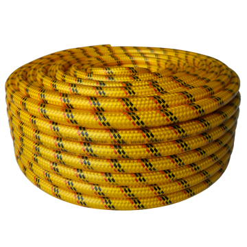 8.5mm yellow high pressure weave spray hose