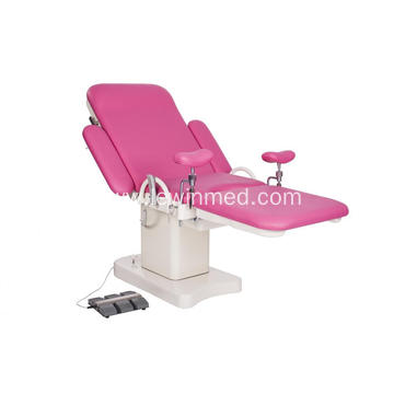 Electric obstetric chair gynecological examination bed