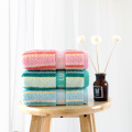 yarn-dyed hand towel