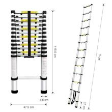 Best Quality for Double Side Telescopic Ladder 11 steps single aluminum ladder supply to Guinea-Bissau Factories