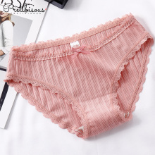 Factory made hot-sale for Women Briefs,Ladies Briefs,Womens Boxer Briefs Manufacturers and Suppliers in China Fashion cotton briefs transparent lace panty for women export to Spain Wholesale