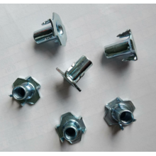 OEM Supplier for Zinc Plated Furniture Nut Carbon steel Zinc Plating The claw T-nuts export to Sao Tome and Principe Manufacturer
