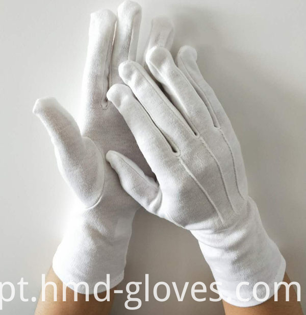 Hand Ceremonial White Gloves