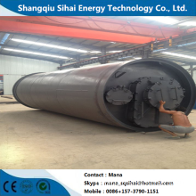 Waste plastic recycling pyrolysis equipment