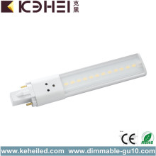 6W G23 PLL LED Tube Light 4000K