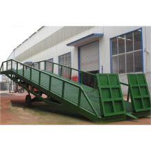 8t CE Adjustable Hydraulic Container Dock Loading Ramp