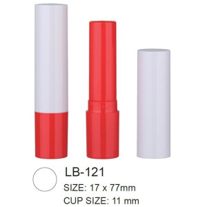 Round Cosmetic Lip Balm Container
