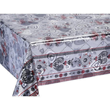 Fashionable Embossed Metallic Tablecloth