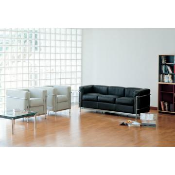 Europe style for Modern Sofa Le corbusier sofa LC2 sofa sets supply to Spain Supplier