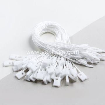 37 color no logo polyester cord string tag