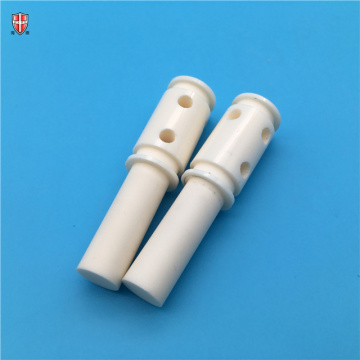 customized insulated Al2O3 alumina ceramic shaft