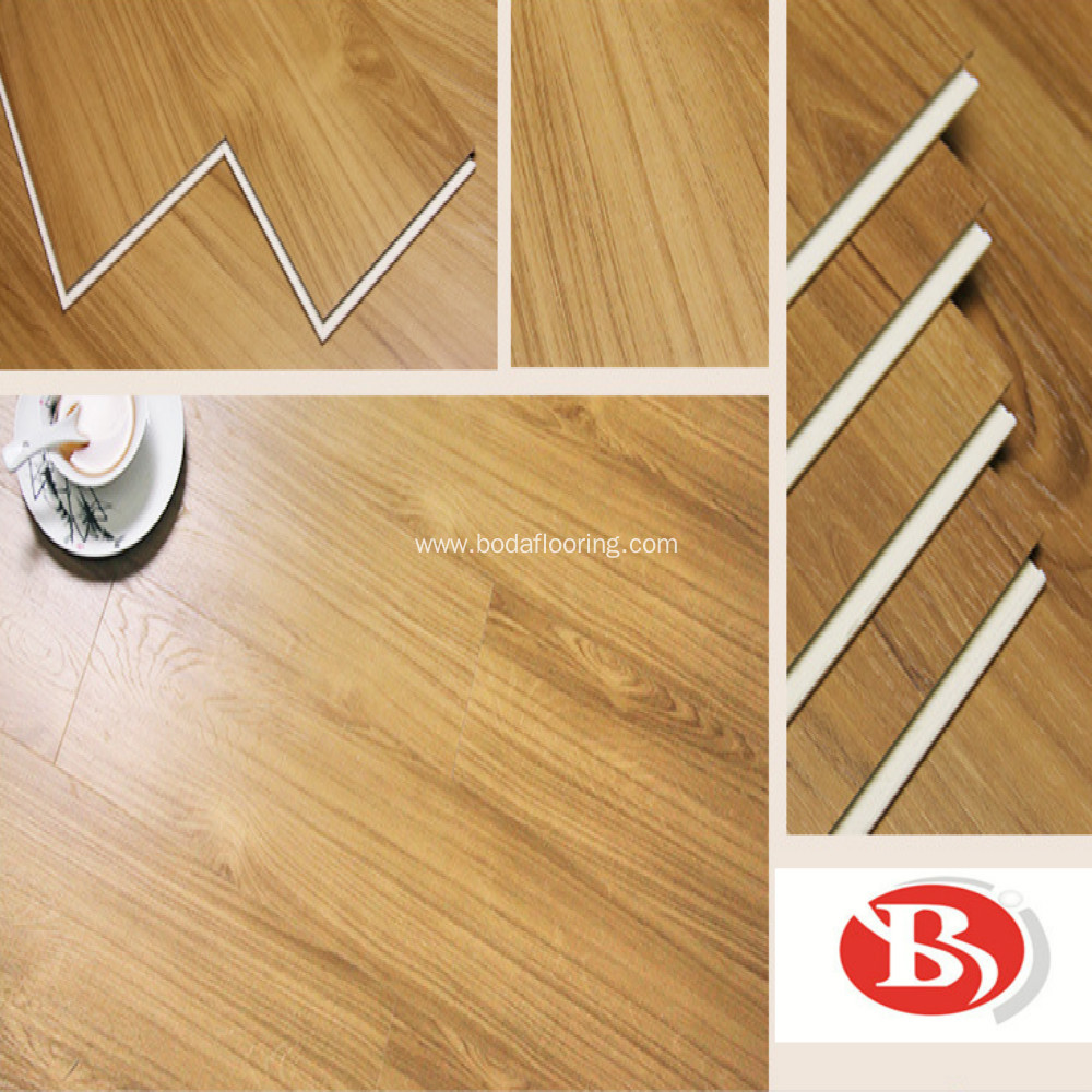 Easy Strengthened locking SPC flooring Commercial usage
