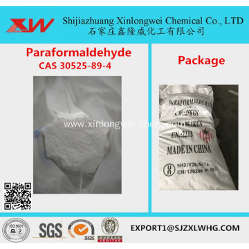 Stable quality 98.5%min paraformaldehyde price for making glue