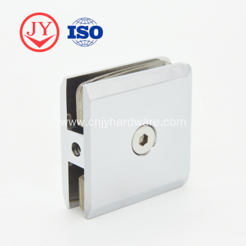 On Wall Brass Stainless Steel Glass Clamp