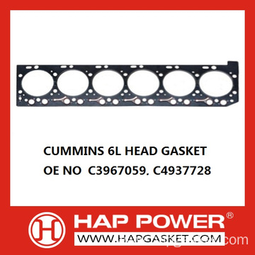 Wholesale Dealers of for Cummins Head Gasket 6L Cylinder Head Gasket export to Algeria Importers