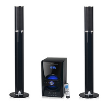 Active multimedia tower speaker box