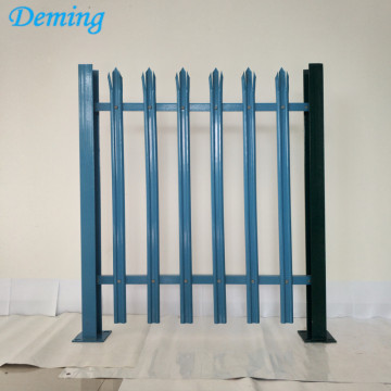 Factory PVC Coated Steel Palisade Fence for sale