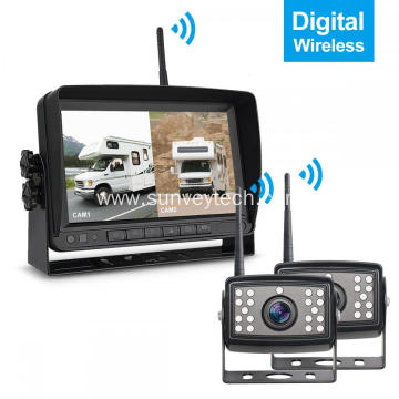 Wireless Digital Backup Camera Monitor Wireless System