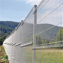 Galvanized steel wire mesh fence