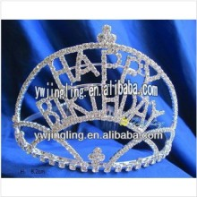 Custom Rhinestone Holiday Birthday Pageant Crowns For Girls