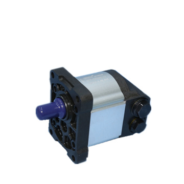 ballast cleaning machine external gear pump