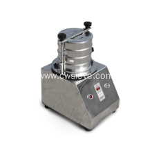 Laboratory soil screening vibration test sieve
