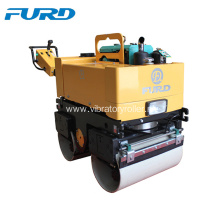 Diesel Double Drum Handheld Vibrating Road Roller