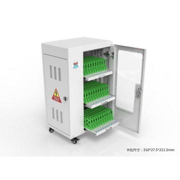 cell phone charging station with digital lockers