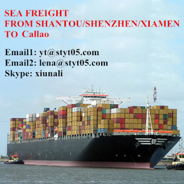 Shipping Forwarder sea freight From Shantou To Callao