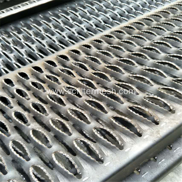 Antiskid Perforated Stainless Steel/Aluminium Sheet Walkway