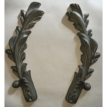 Special Price for Wrought Iron Flowers and Leaves Casting Steel Wrought Iron Gate Ornamental supply to Mongolia Factory