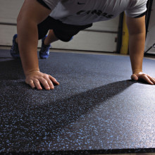 Fitness Center Rubber Flooring