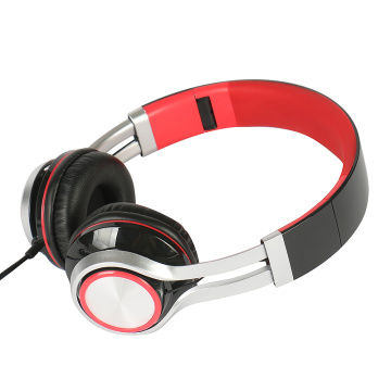Color customized bass stereo headphones for promotion