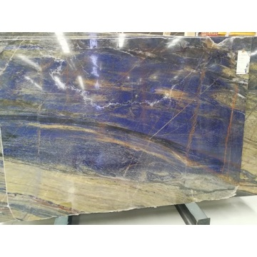 blue sodalite with black slabs