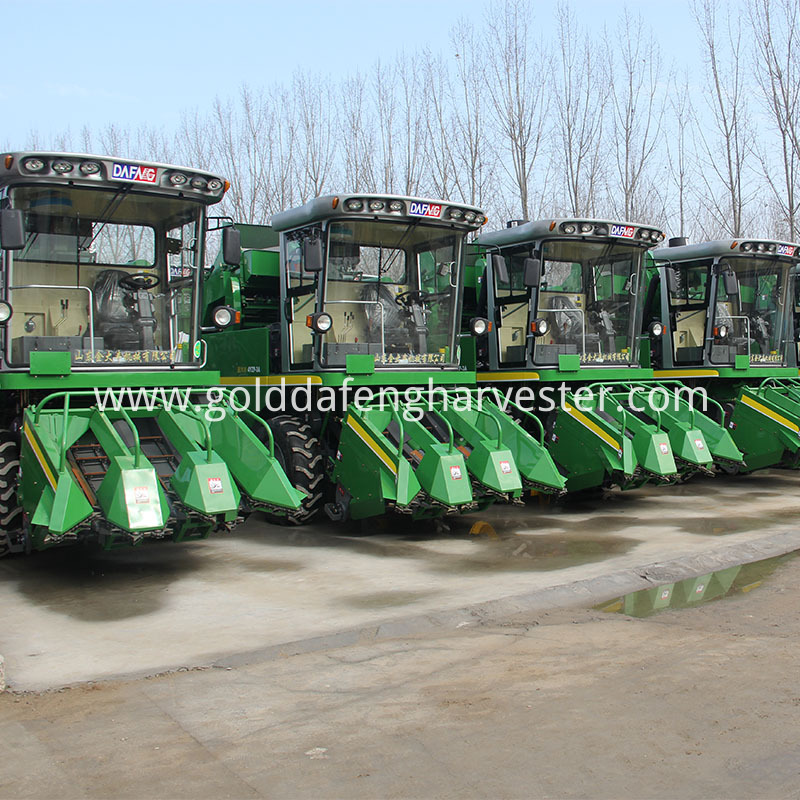 4YZP-3A maize harvester