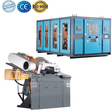 industrial metal melting coreless induction furnace
