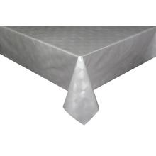 Solid Embossed Fabric Picnic Tablecloth
