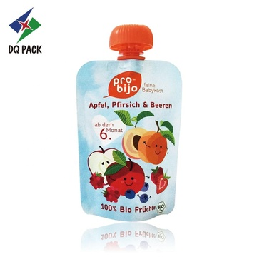 Juice packaging bag with prevent children chocking cap