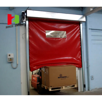 Self-Recovery PVC High Speed Zipper Self-Repair Door